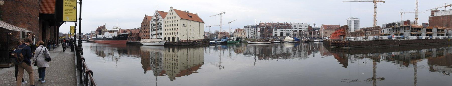Motława w Gdańsku