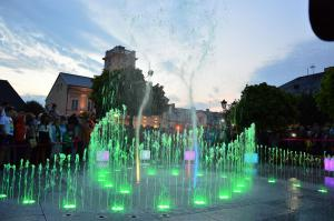 kutno, fontanna, 2